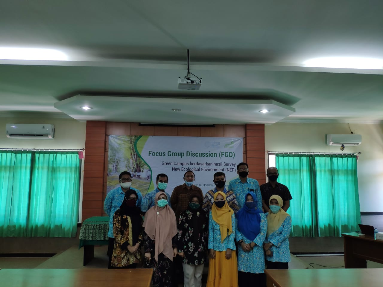 Formulasi Strategis Difusi Program Green Campus UNS